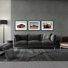 McLAREN P1 EXOTIC AUTOMOTIVE SPORTS CAR 3 HD POSTER PACKAGE 18x24in