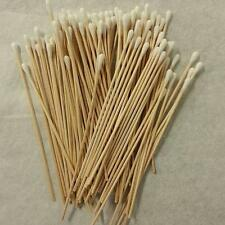 "200 Pc Cotton Swab Applicator Q-tip Swabs 6"" Extra Long Wood Handle Sturdy"