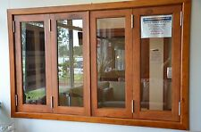 BIFOLD FRENCH WINDOWS, SOLID CEDAR TIMBER, 1930W X 1200H, PRE ORDER NOW