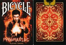 Bicycle Pyromaniac Playing Cards by Collectable Playing Cards Deck New