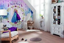 Wall Mural Photo Wallpaper FROZEN FAMILY FOREVER PRINCESSES Girls Room Decor BIG