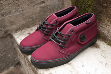 Vans Vault Peacoat Chukka Size 9.5 Mens WINE COLOR WAY SUPER RARE