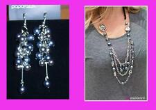 Paparazzi 2pc Set Necklace & Matching Earrings & Earrings