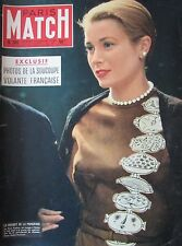 PARIS MATCH N° 0381 de 1956 GRACE KELLY / MARILYN MONROE / TOUR DE FRANCE