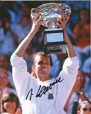 Hand Signed 8x10 photo - IVAN LENDL - US OPEN TENNIS CHAMPION Murray + my COA
