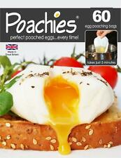 POACHIES - 60 BAGS - Perfect Poached Eggs Every Time In Just 5 Minutes