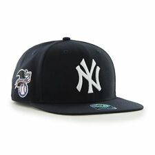 New York Yankees '47 Brand Sure Shot Captain Navy Blue Flat Brim Snapback Hat