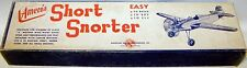 Vintage SHORT SNORTER Rare Old Time UC Model Airplane PLAN With Parts Patterns