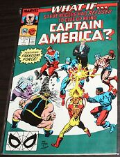Marvel Comics WHAT IF...Steve Rogers Refused To Stop Being CAPTAIN AMERICA? #3
