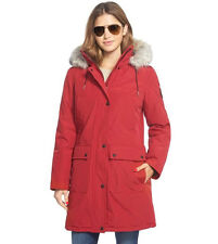 "Calvin klein Performance ""Expedition"" Parka With Faux Fur Trim-Large MSRP-$390"