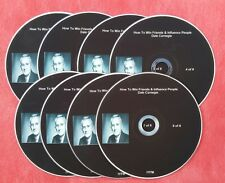 DALE CARNEGIE HOW TO WIN FRIENDS AND INFLUENCE PEOPLE 8 CD's Audio