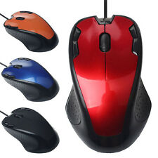 USB Wired 1800 DPI Optical Gaming Mouse Mice For PC Computer Laptop Macbook