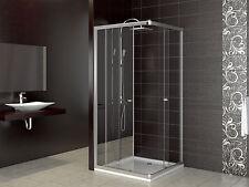 Duschkabine Duschtasse Schiebetür Duschabtrennung Duschwanne Dusche 80x80 cm