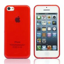Ultra Slim Transparent Matte Silicone Gel Back Case Cover Skin For iPhone 5C