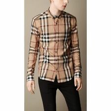 Burberry Brit Camel Exploded Check Shirt Small