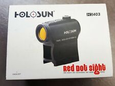 New Holosun Paralow HS403A Red Dot Sight with Push Buttons and 50K Battery Life