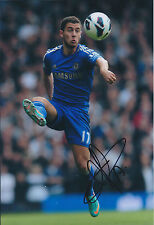 Eden HAZARD Signed Autograph 12x8 Photo AFTAL COA Chelsea Premier League WINNERS