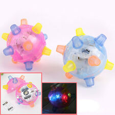 Led Disco Dance Dancing Ball Flashing Light Jumping Music Bouncing Toy 2016