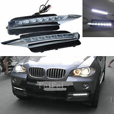 2PCS BMW X5 Daytime Running Light 8LED 18W High Power for 2007-10 BMW