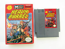 Data East´s HEAVY BARREL Nintendo NES US NTSC Boxed Game Spiel Modul OVP