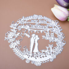 Wedding Metal Cutting Dies Stencil For Scrapbooking Paper Cards Decor Embossing