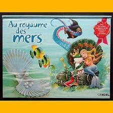 Pop up Livre en relief AU ROYAUME DES MERS 2001