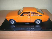 Atlas Fabbri Opel Kadett Coupe Modell / Baujahr 1973 orange 1:24