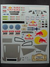 DECALS 1/32 VOLKSWAGEN TOUAREG 2  #305 WINNER DAKAR 2009 - COLORADO 32145