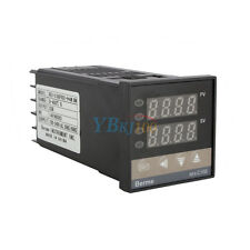 New PID Temperature Control + 40A SSR + K Thermocouple 0 to 400℃ REX-C100 US