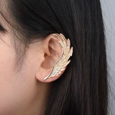 1PC Antique Gold Wing Gothic Punk Rock Style Ear Cuff Wrap Clip Earring
