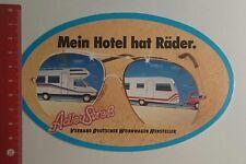 Aufkleber/Sticker: Verband Deutscher Wohnwagen Hersteller mein Hotel (111116169)