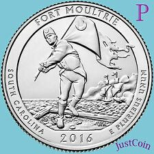 2016-P FORT MOULTRIE SUMTER NATIONAL MONUMENT QUARTER UNCIRCULATED