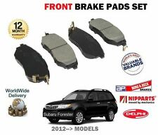 FOR SUBARU FORESTER 2.0DT EE20Z 2.0i FA20E 2012-- NEW FRONT BRAKE DISC PADS SET
