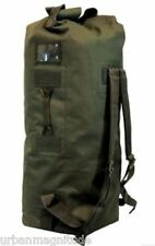 "NEW ARMY MILITARY DUFFLE BAG OUTDOOR HUNTING TRAVEL 42"" TRACK USA TA042 Olive"