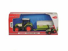 DICKIES TOYS CLAAS TRACTOR WITH TRAILOR NEW BOXED