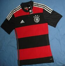 NEW GERMANY ADIDAS DFB ADIZERO 2014 AWAY AUTHENTIC MATCH ISSUE JERSEY TRIKOT