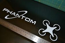 DJI Phantom DRONE VInyl Decal Sticker COMBO pack Quad Copter RC Vision 2