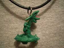 Pokemon Rayquaza Anime Jewelry Figure Charm Necklace