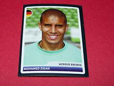 190 M. ZIDAN WERDER BREMEN UEFA PANINI FOOTBALL CHAMPIONS LEAGUE 2006 2007