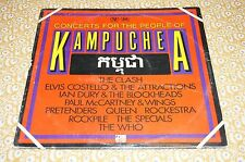 Rock   KAMPUCHEA  Concerts For The People  EX/EX  SD2-7005 2LPs   EB851