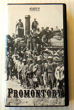 Promontory - Transcontinental Railroad  VHS Movie Video  KUED 7 2002 Train West