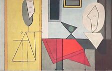 """1960 Art Print """"The Studio"""" Abstract By Picasso Free Shipping"""
