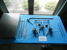 Integra Omni-Tract Surgical Table Mounted Retractor Set With Case