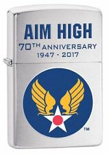 Zippo Windproof U.S. Air Force Hap Arnold Wings Lighter, 29180, New In Box