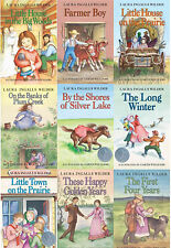 Little House on the Prairie Collection Series LAURA INGALLS WILDER 9 Book Set