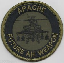 US Army Apache Longbow Helicopter AH Weapon Embroidered Badge Patch