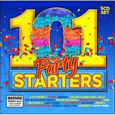 101 PARTY STARTERS VARIOUS ARTISTS 5 CD NEW
