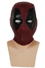 Deadpool Helmet Movie Cosplay Mask Full Head Latex Mask Costume Props Adult