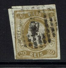 Portugal SC# 19, Used, light side and top margin cut -  Lot 031917