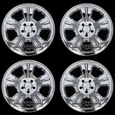 "03-07 FORESTER 16"" Chrome Wheel Skins Rim Covers 5 Spoke Hub Caps Steel Wheels"